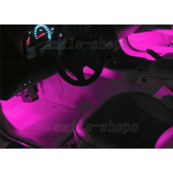 11pcs Pink/Purple LED Interior Light Package Fit For 2011-2013 Infiniti QX56