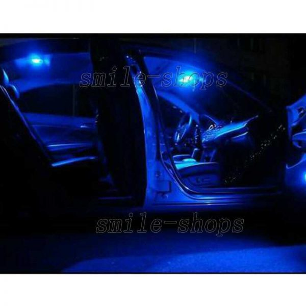 11pcs Ultra Blue LED Inteiror Light Package Fit For 2006-2010 Infiniti M35