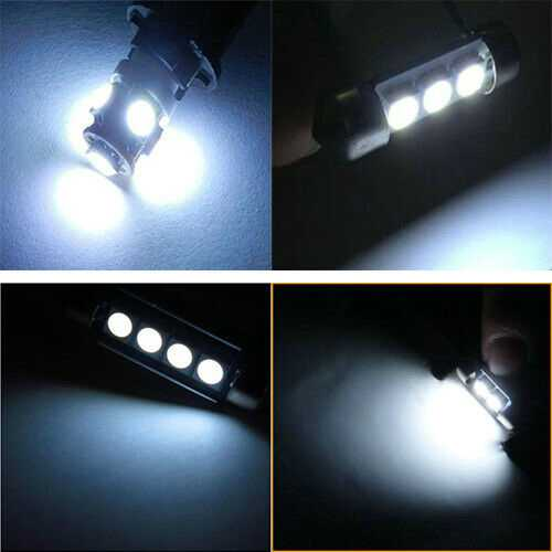 Super Bright White Interior LED Package For Mazda Protege 5 2002-2003 (6 Pieces)