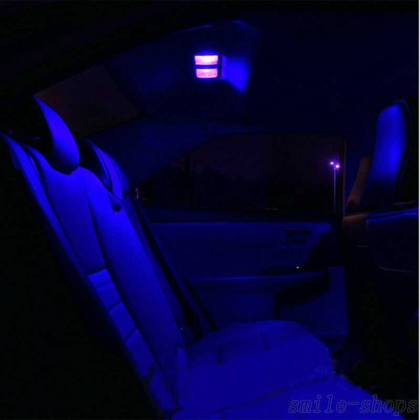For Chevy Silverado 2009-2013 Bright Blue Interior LED Light Package Kit - 12Pcs