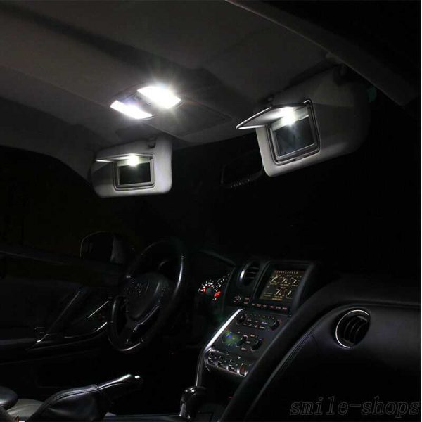 For Chevy Avalanche 2007-2013 Xenon White Interior LED Light Package Kit - 13Pcs
