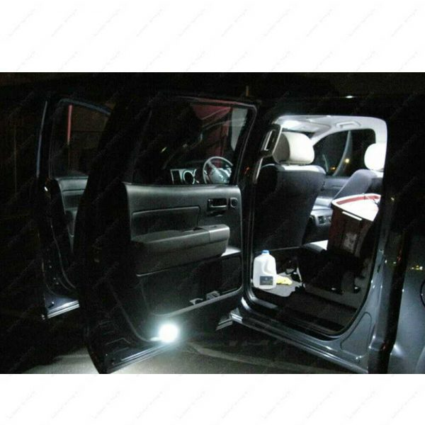 16 x White LED Interior Bulbs + Reverse + Tag Light For 1999-2007 Ford F250 F350