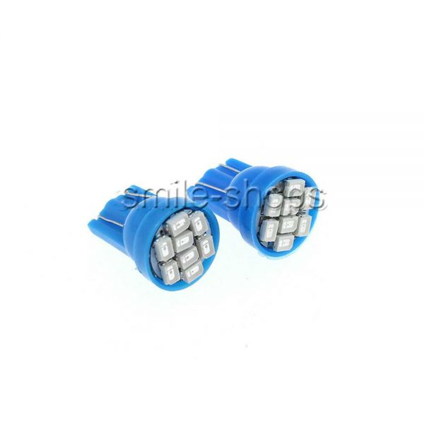 14x Blue LED Car Light Interior Package For T10 & 31mm Map Dome + License Plate