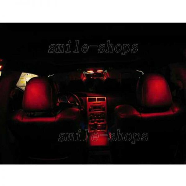 14pcs Red LED Interior Light Package Fit For 06-11 BMW 3 Series M3 E90 E91 E92