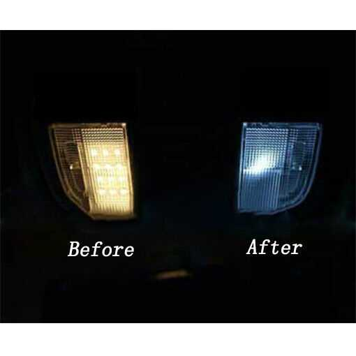 For Mazda RX7 FD3S 6000K LED Interior Bulb Package Map Dome Trunk License Plate