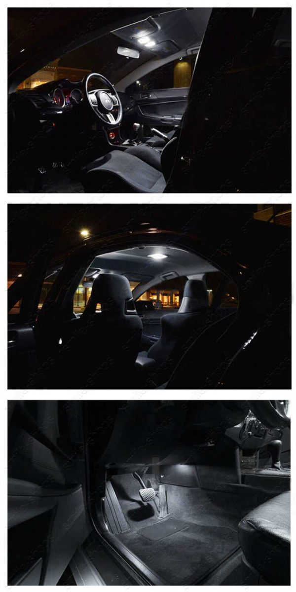 8Pcs White Reverse + Tag + Interior LED Lights Fit For 2000-2016 Toyota Corolla