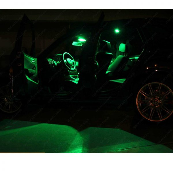 13pcs Green Interior LED Light Package Kit for Chevy Impala 2006-2013