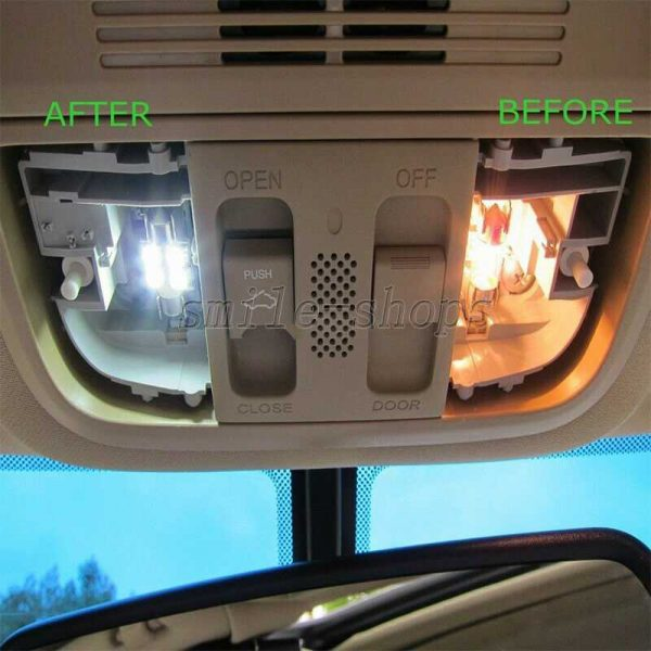 16pc White Reverse + Tag + Interior LED Lights Fit For 2003-2014 Chevy Silverado