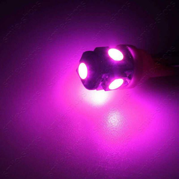 11pcs Bright Pink Interior LED SMD Light Bulb Package Kit For Acura CL 2001-2003