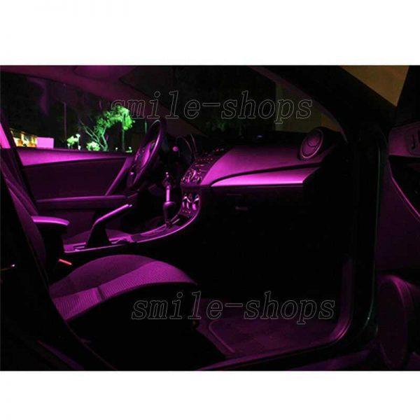 10pcs Pink/Purple LED Interior Light Package Fit For 2007-2013 Chevy Suburban