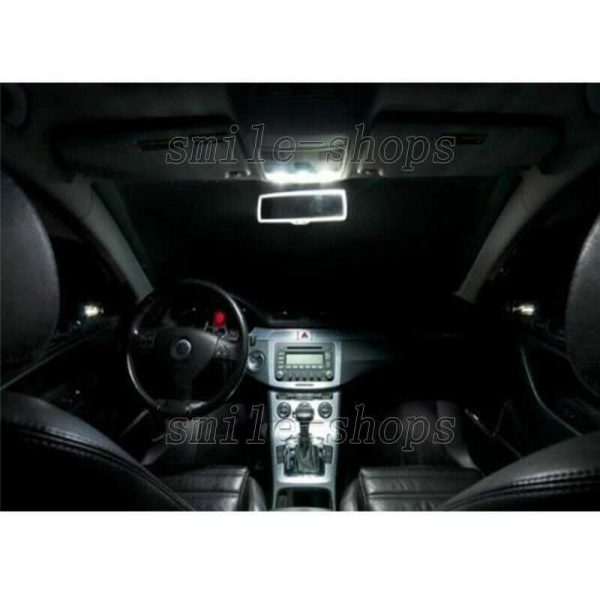 10pcs Xenon White LED Interior Light Package Fit For 2003-2006 Ford Expedition